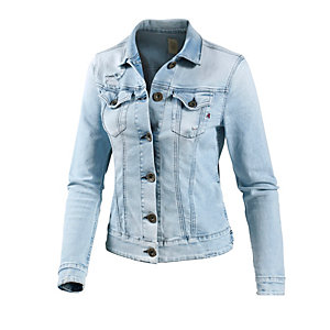 replay jeansjacke damen light denim im online shop von. Black Bedroom Furniture Sets. Home Design Ideas