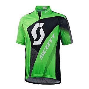SCOTT Authentic Fahrradtrikot Herren grün/schwarz