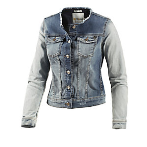 rich royal jeansjacke damen denim bleached im online. Black Bedroom Furniture Sets. Home Design Ideas