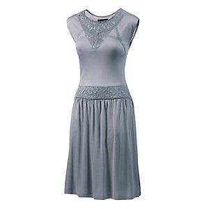 Mogul Jerseykleid Damen grau