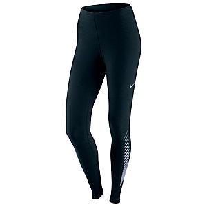Nike Reflective Lauftights Damen schwarz