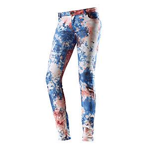 Fuga Skinny Fit Jeans Damen blau