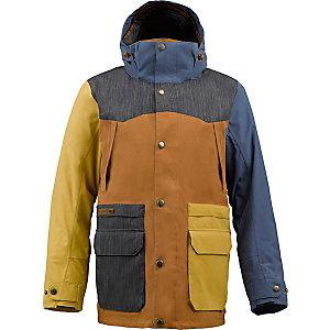 Burton Hellbrook Snowboardjacke Herren braun/jeans