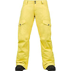 Burton Lucky Snowboardhose Damen gelb