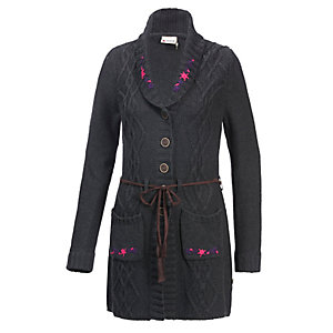 OCK Strickjacke Damen grau