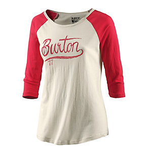 Burton Dream Team T-Shirt Damen weiß/rot