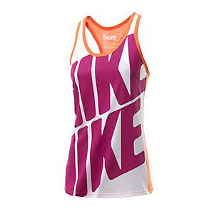 Nike Tanktop Damen neonorange/weiß