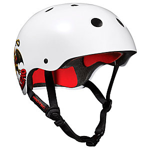 Pro Tec The Classic ProSeries Steve C. Skate Helm weiß/rot