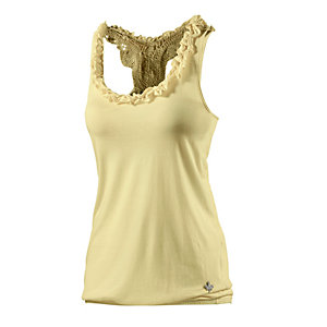 Khujo Tanktop Damen gelb
