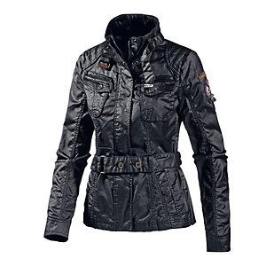 Khujo Siren Bikerjacke Damen schwarz