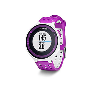 garmin forerunner 220 hr sportuhr damen wei violett im. Black Bedroom Furniture Sets. Home Design Ideas
