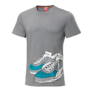 PUMA Sneaker T-Shirt Herren graumelange