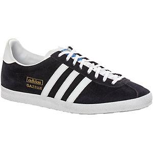 adidas Gazelle Sneaker Herren schwarz/weiß