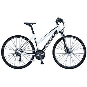 Scott Sportster 40 Lady  Trekkingrad Damen in weiß/schwarz, Größe S