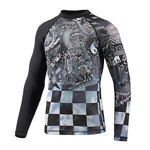 Volcom Manic Surf Shirt Herren schwarz/weiß