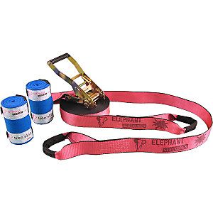 Elephant Slacklines Rookie Flash'Line Set Slackline pink
