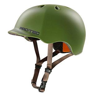 Pro Tec Riot Street Skate Helm grün/orange