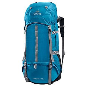 OCK Trek Pro 55+ Trekkingrucksack blau