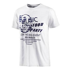 Maui Wowie T-Shirt Herren weiß