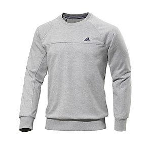 adidas ESSENTIAL Sweatshirt Herren grau