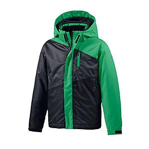 ICEPEAK Skijacke Kinder grün/anthrazit/schwarz