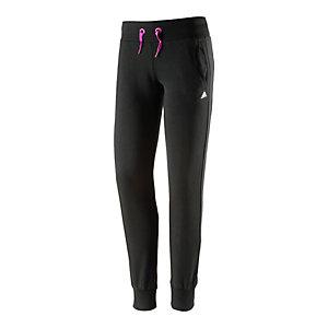 adidas Trainingshose Mädchen schwarz/pink