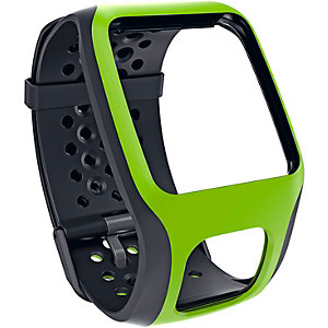 TomTom Uhrband schwarz/grün