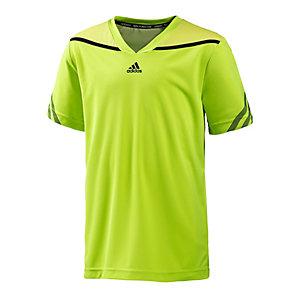 adidas Tennisshirt Jungen neongelb