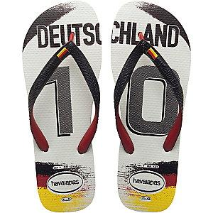 Havaianas Teams II Deutschland Zehensandalen weiß/schwarz/rot
