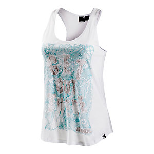Bench Get Out There Tanktop Damen weiß