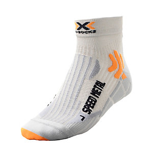X-SOCKS Speed Metal Laufsocken Herren silberfarben/grau