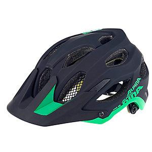 ALPINA Carapax Fahrradhelm schwarz/grün