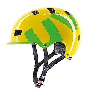Uvex HLMT 5 Fahrradhelm gelb/grün