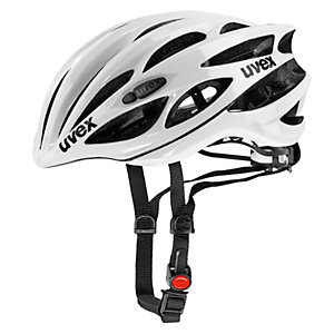 Uvex Race 1 Fahrradhelm weiß