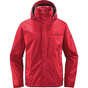 VAUDE Escape Light Regenjacke Herren rot
