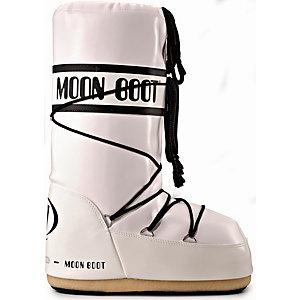 TECNICA Moon Boot Vinil Winterschuhe Damen weiß/schwarz