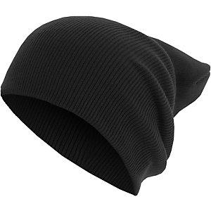 MasterDis Basic Flap Beanie schwarz