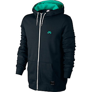 Nike SB Icon Sweatjacke Herren schwarz