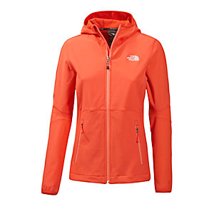 The North Face Xerxes Softshelljacke Damen rot