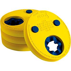 ZOGGS Float Discs Schwimmflügel Kinder gelb/blau
