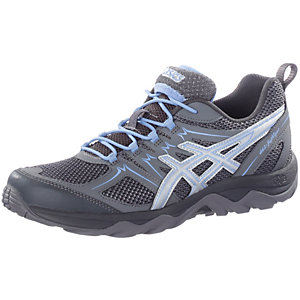 ASICS Gel-Fujiviper Walkingschuhe Damen anthrazit/hellblau