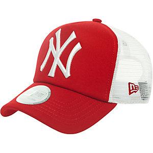 New Era Clean Truckers NY Yankees Cap rot/weiß