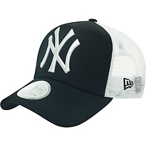 New Era Clean Truckers NY Yankees Cap schwarz/weiß