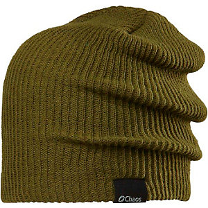 CHAOS Genetic Beanie oliv