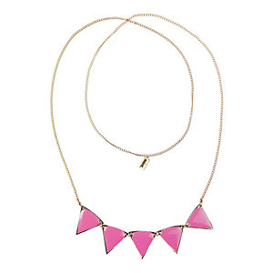 MINT Halskette Damen pink/goldfarben