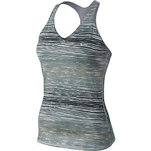 Nike Funktionstank Damen schwarz/weiß
