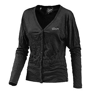 Timezone Strickjacke Damen in schwarz, Größe L