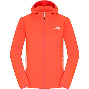 The North Face Nimble Softshelljacke Damen rot