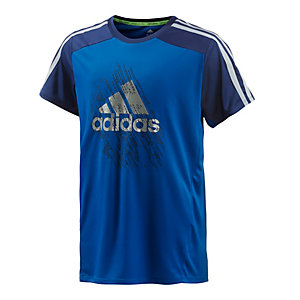 adidas Funktionsshirt Jungen blau