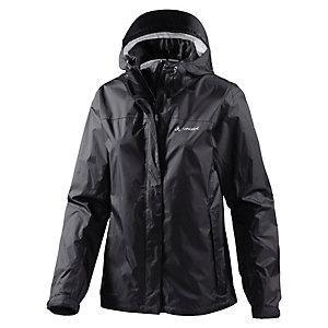 VAUDE Bircho Jacket Wmn Regenjacke Damen schwarz